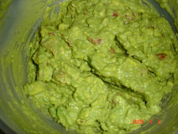Betty Crocker's Southwestern Guacamole Dip. Photo by young chef #3