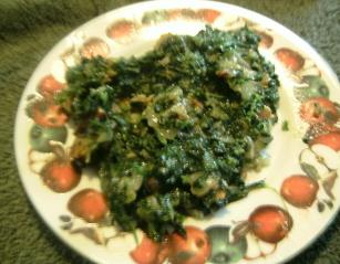 Lawrys Creamed Spinach. Photo by WI Cheesehead