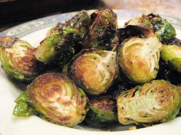 Roasted Brussels Sprouts!. Photo by Kathy at Food.com