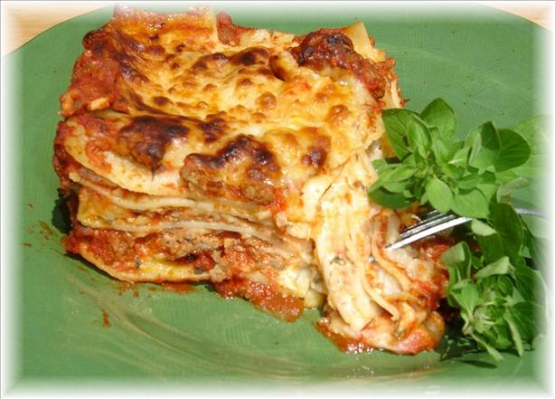 Classic Lasagna. Photo by lets.eat