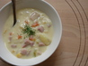 Ham and  Corn Chowder. Recipe by TheDancingCook