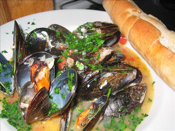Mussels Italiano. Photo by maryjane in spain