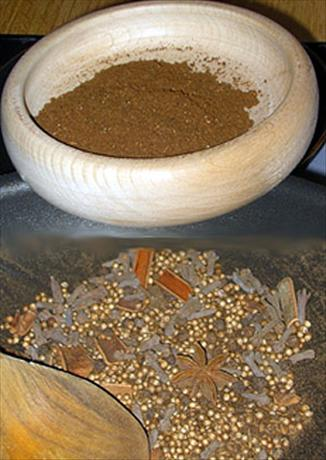 Mom's Teacher's Garam Masala recipe. Photo by Tina and Dave