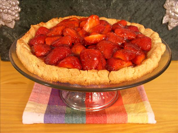 Glazed Strawberry Tart. Photo by Kiss*My*Tiara