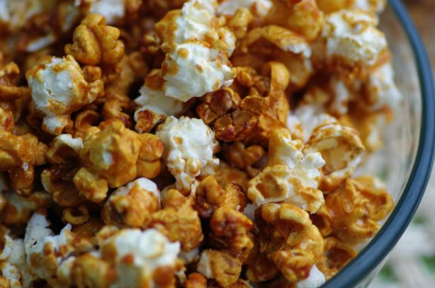 Caramel Popcorn (not too sweet or sticky). Photo by Redsie