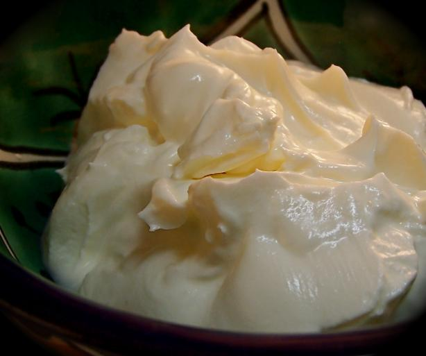 Homemade Creme Fraiche. Photo by PaulaG