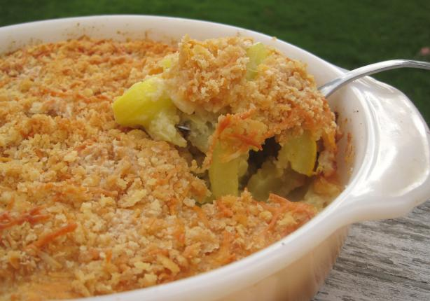 Charleston Yellow Squash Casserole. Photo by Lynn in MA