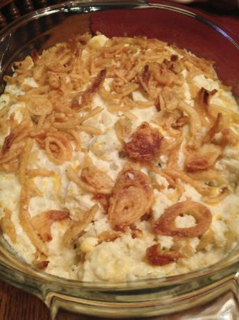 Creamy Garlic Mashed Potato Casserole. Photo by Meeko