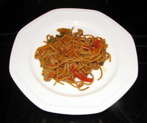 Pork and Vegetable Lo Mein (Easy and Delicious). Photo by OneEyeJack