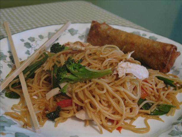 No-Pain Lo Mein (Rachael Ray). Photo by superblondieno2