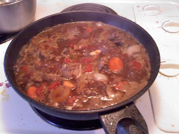 Fragrant Lamb Stew with Dried Fruits. Photo by danigirl2000_2190531