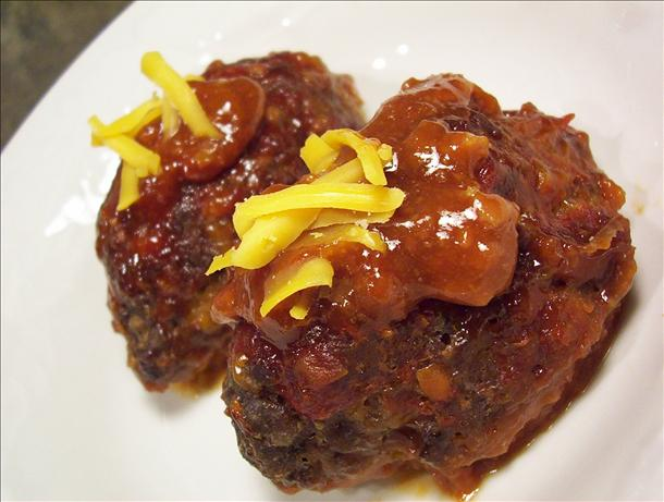 Lil' Cheddar Meatloaves. Photo by * Pamela *