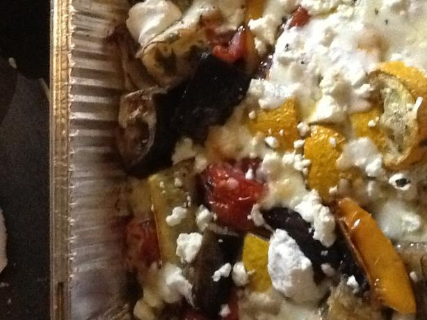Briami (Greek Oven-Roasted Vegetables). Photo by messystation