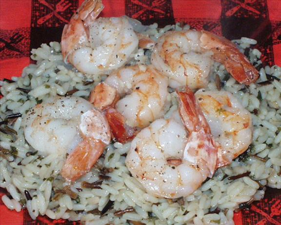 garlic shrimp. Photo by Marsha D.