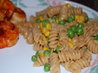 Spicy Asian Chicken Pasta. Recipe by Normaone