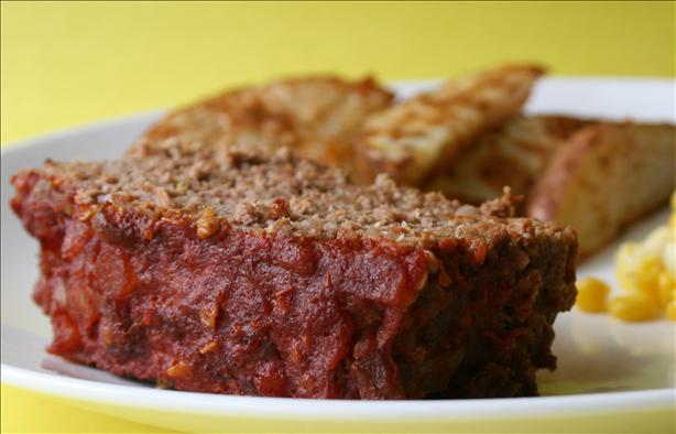 Salsa Meatloaf (OAMC). Photo by Cookin-jo