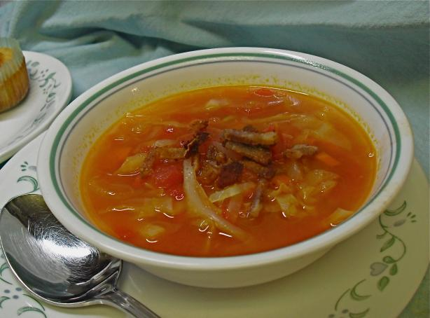 Cabbage Soup ala Nita. Photo by PaulaG