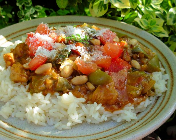 South Africa Vegetable Curry. Photo by French Tart