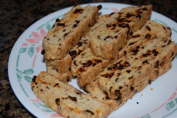 Savoury Mediterranean Biscotti. Photo by mikey & ev