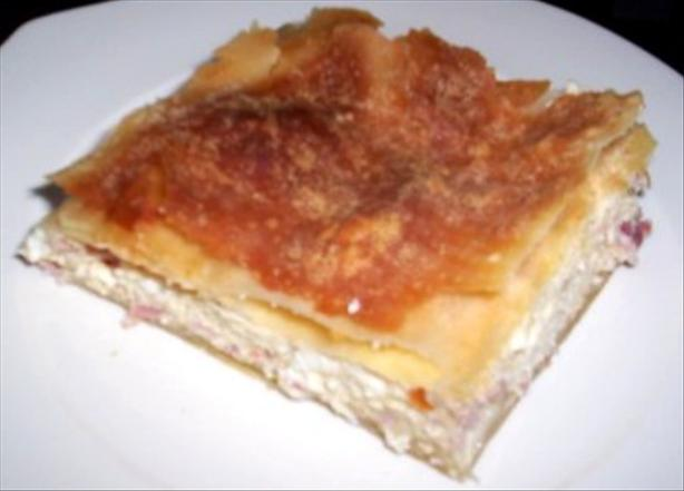 Tiropita (Greek Savoury Cheese Pie). Photo by evelyn/athens