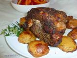 Greek Roast Leg of Lamb with Potatoes
