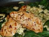 Greek Chicken and Spinach