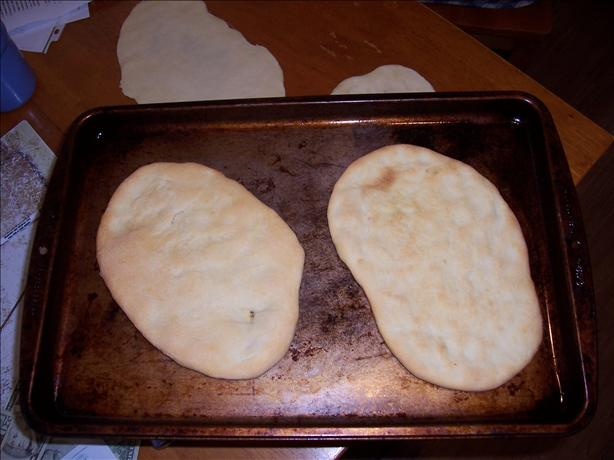 Naan (Indian Flat Bread). Photo by Chef Booshman