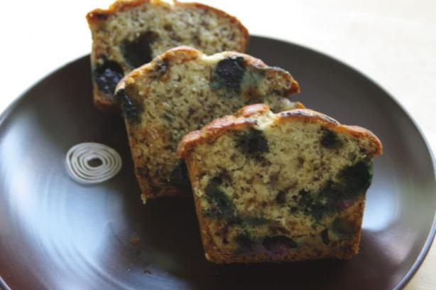 Banana Blueberry Mini Loaves. Photo by Redsie