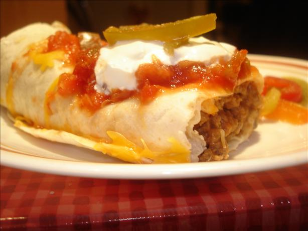 Shirl's Awesome Easy Burritos. Photo by Chef Mommie