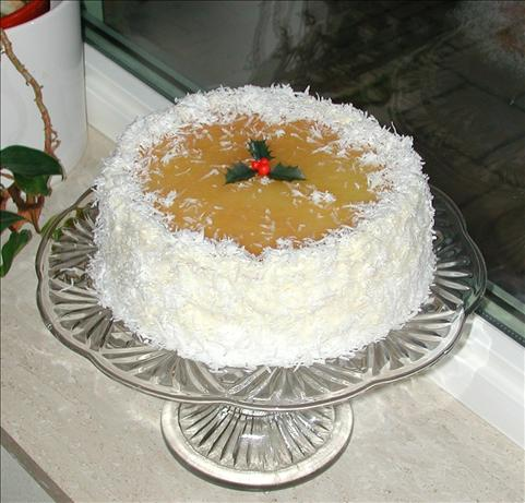 Coconut-Pineapple Cake With Cream Cheese Frosting. Photo by Vicki G.