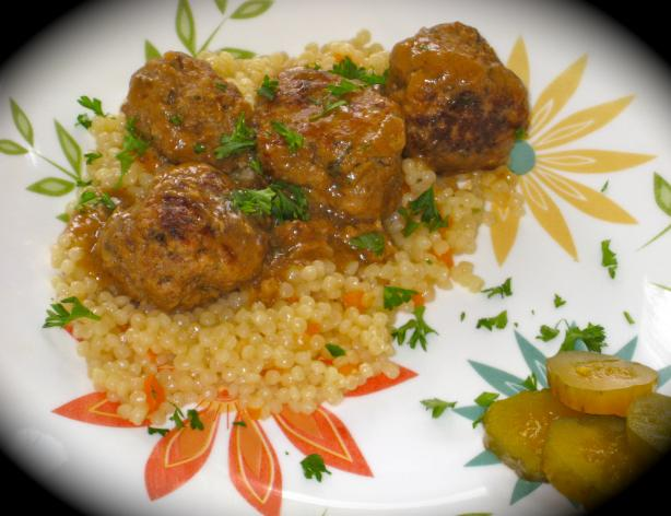Mom's Swedish Style Meatballs. Photo by FrenchBunny