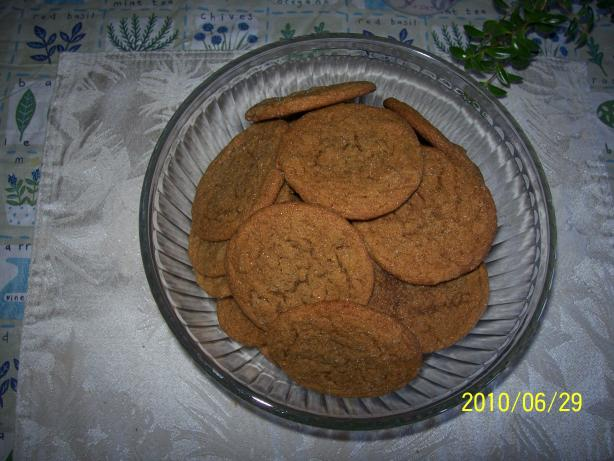Moxie's Crystallized Ginger Cookies. Photo by Grammabobbie