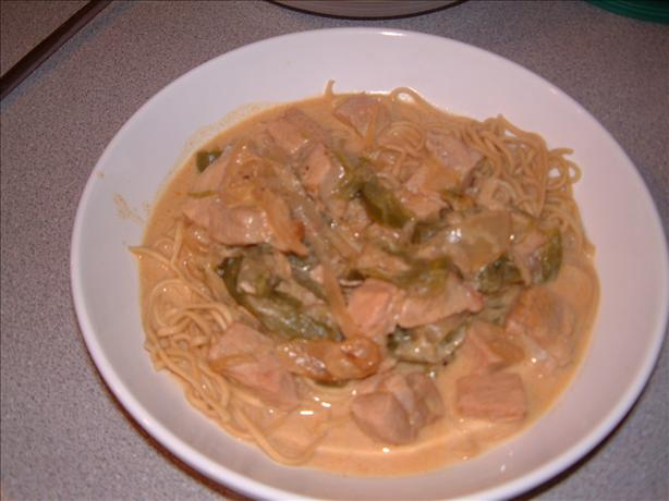 Pork Paprikash. Photo by Tulip-Fairy