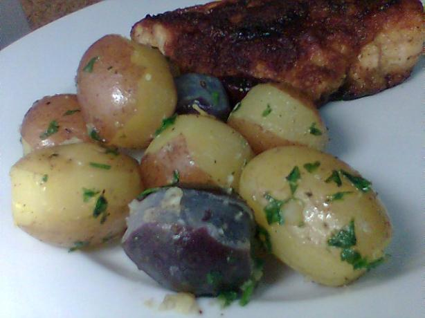 Lemon Parsley Potatoes. Photo by Diana #2