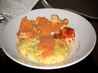 Roasted Halibut With Tomato Cream Sauce
