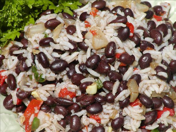 Easy Black Beans and Rice. Photo by Rita~