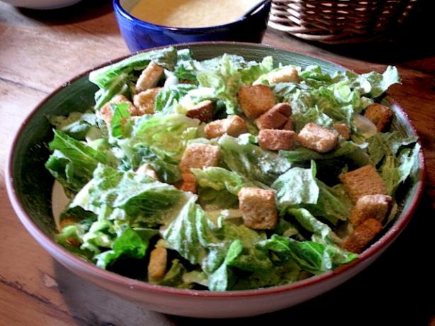 Caesar Salad. Photo by Belgophile