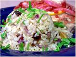 Party Brown Rice With Pistachios and Cranberries