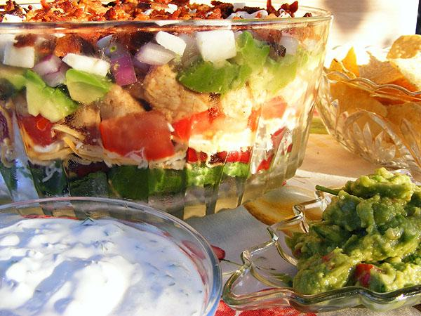 Mexican Cobb Salad. Photo by Lavender Lynn
