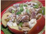 Apple-Peanut Salad with Tuna