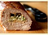 Roast Pork, Stuffed with Stilton