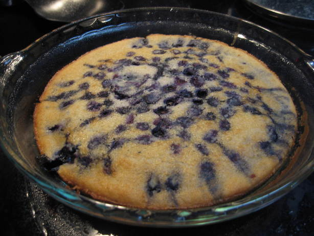 Low Fat Blueberry Cobbler. Photo by Nurse Morgan