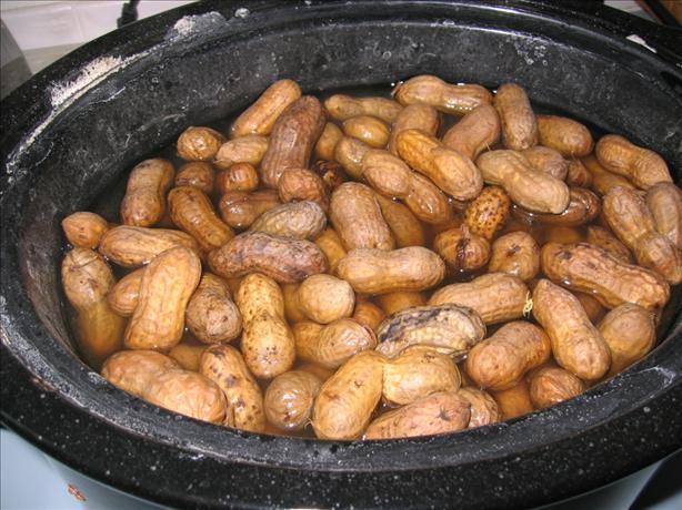 Crock Pot Boiled Peanuts