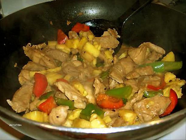 Pork with Pineapple. Photo by Derf