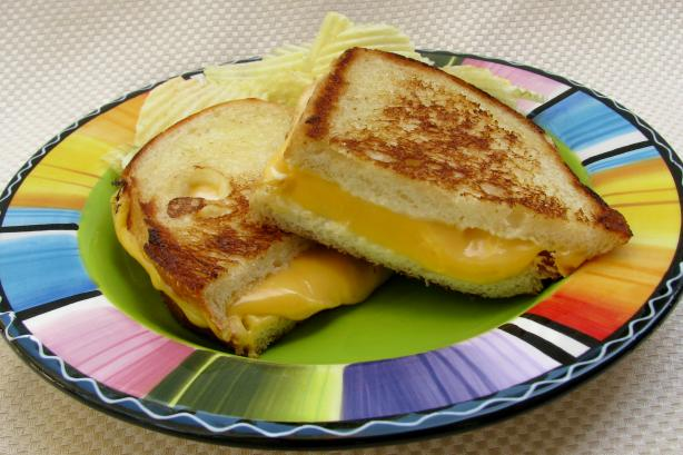 Your Basic Grilled Cheese Sandwich. Photo by lazyme