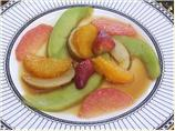 Fresh Fruits Flambe