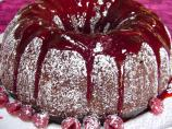Heavenly Chocolate Raspberry Bundt Cake