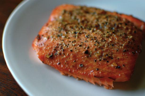 Brown Sugar Grilled Salmon. Photo by run for your life
