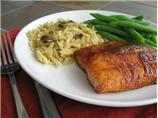 Spiced Maple Glazed Salmon