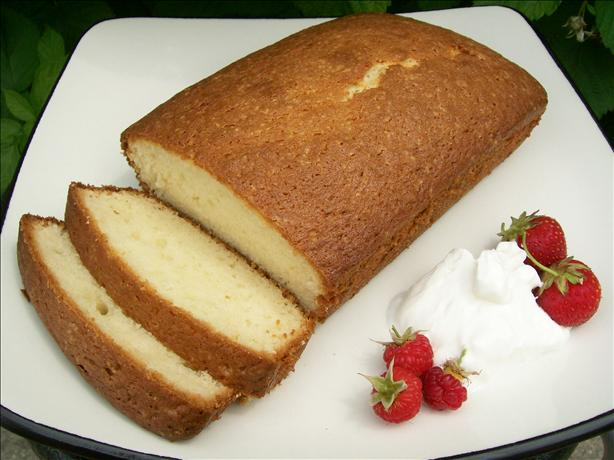 Sour Cream Pound Cake. Photo by * Pamela *
